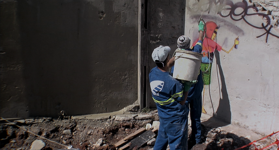Apagando grafite