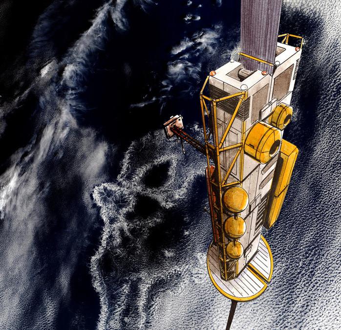 Elevador espacial