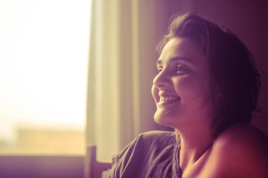 O sorriso de Andressa