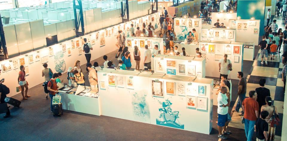 Exposição Ícones dos Quadrinhos no FIQ 2013