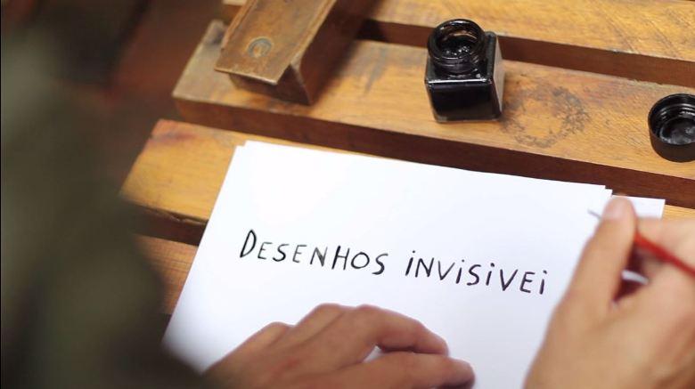 desenhos invisiveis