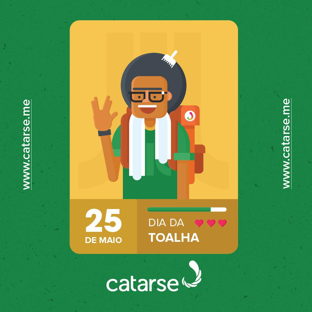 Dia da Toalha: 42 projetos no Catarse que todo nerd deve conhecer