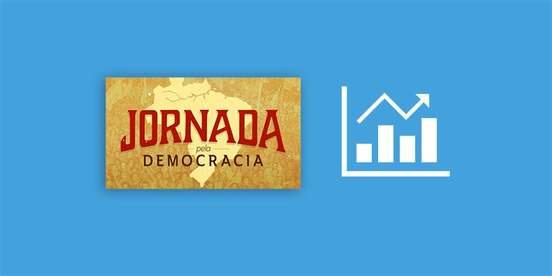 Jornada pela Democracia bate todos os recordes do Catarse