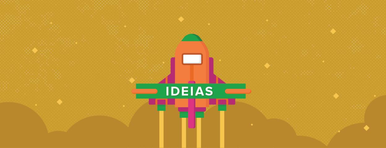 O que é mais importante em projetos criativos, a ideia ou a execução?
