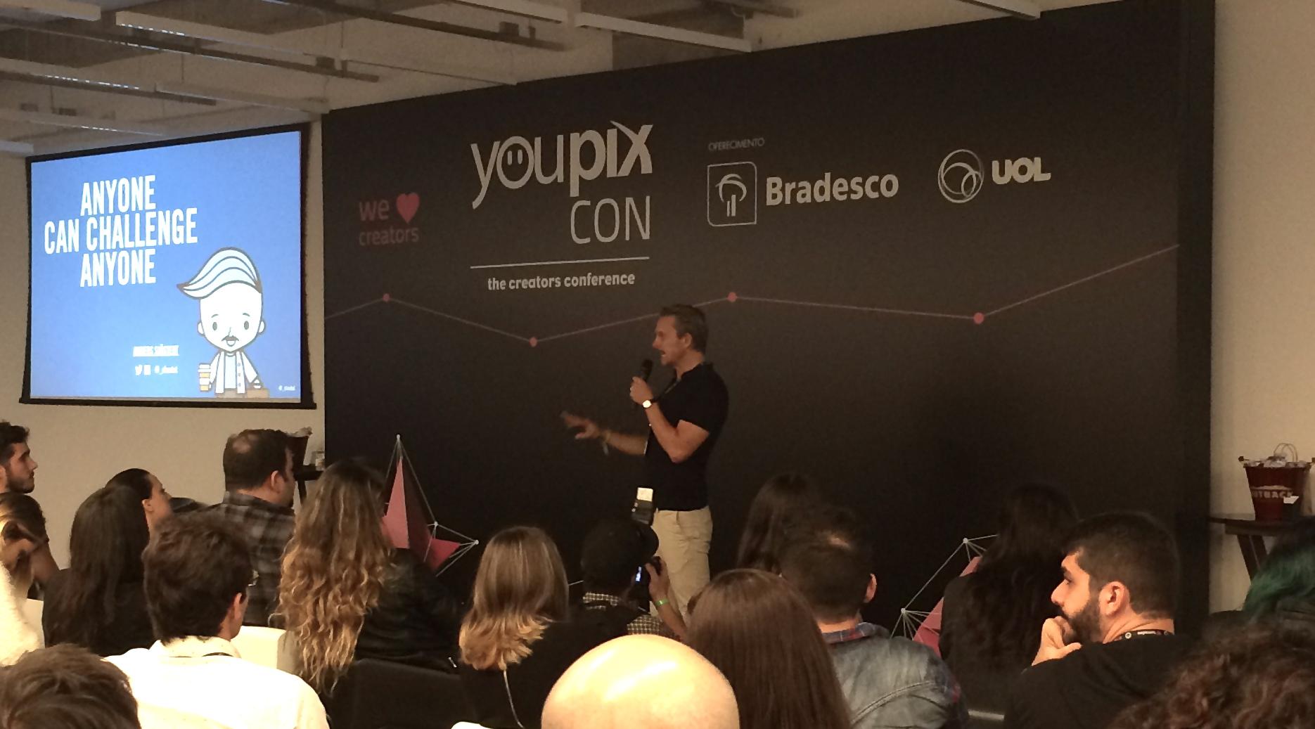 YouPIX Con 2016 (parte 1): Todo mundo pode desafiar todo mundo