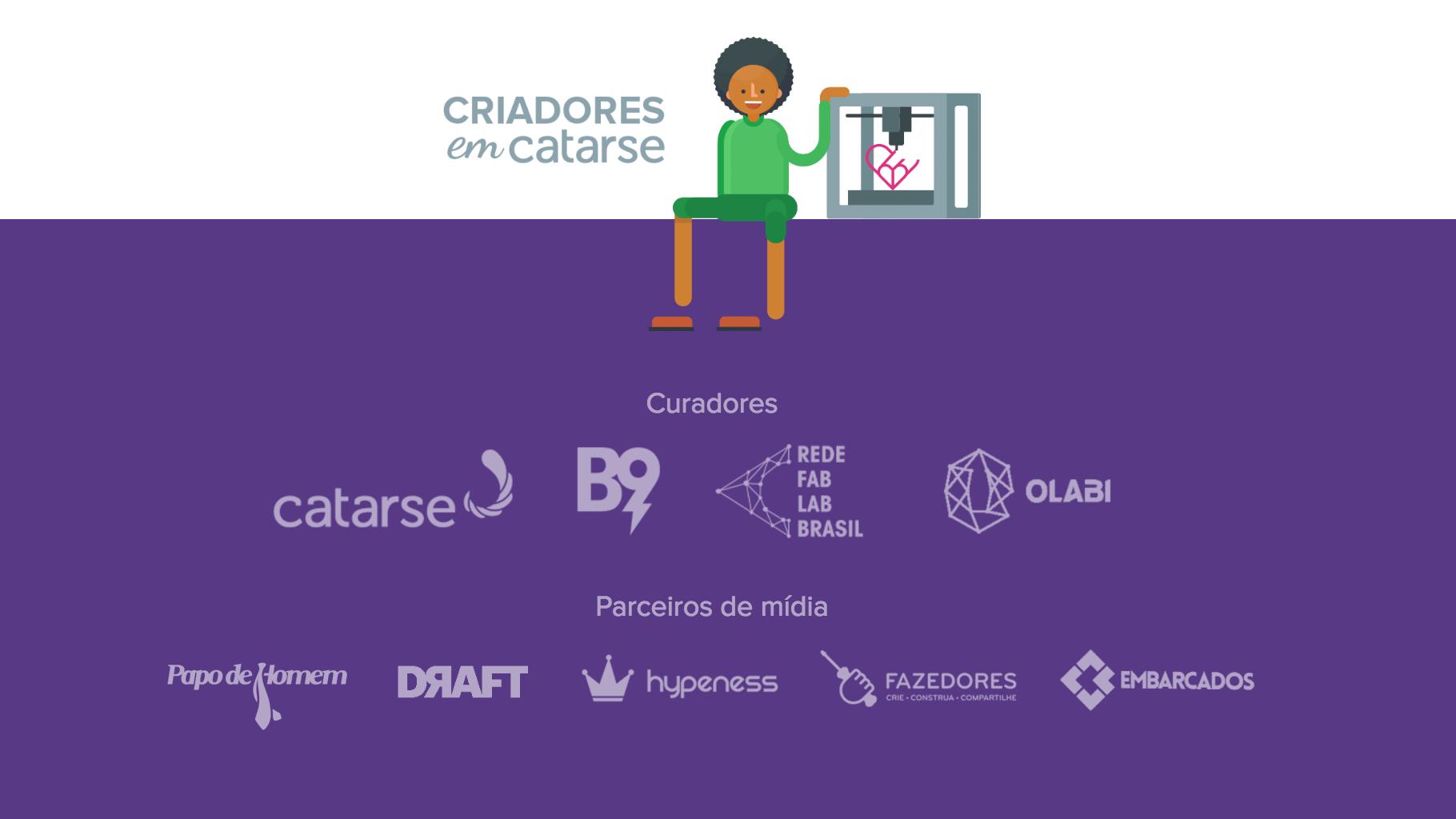 Conheça os 6 projetos selecionados no Criadores em Catarse