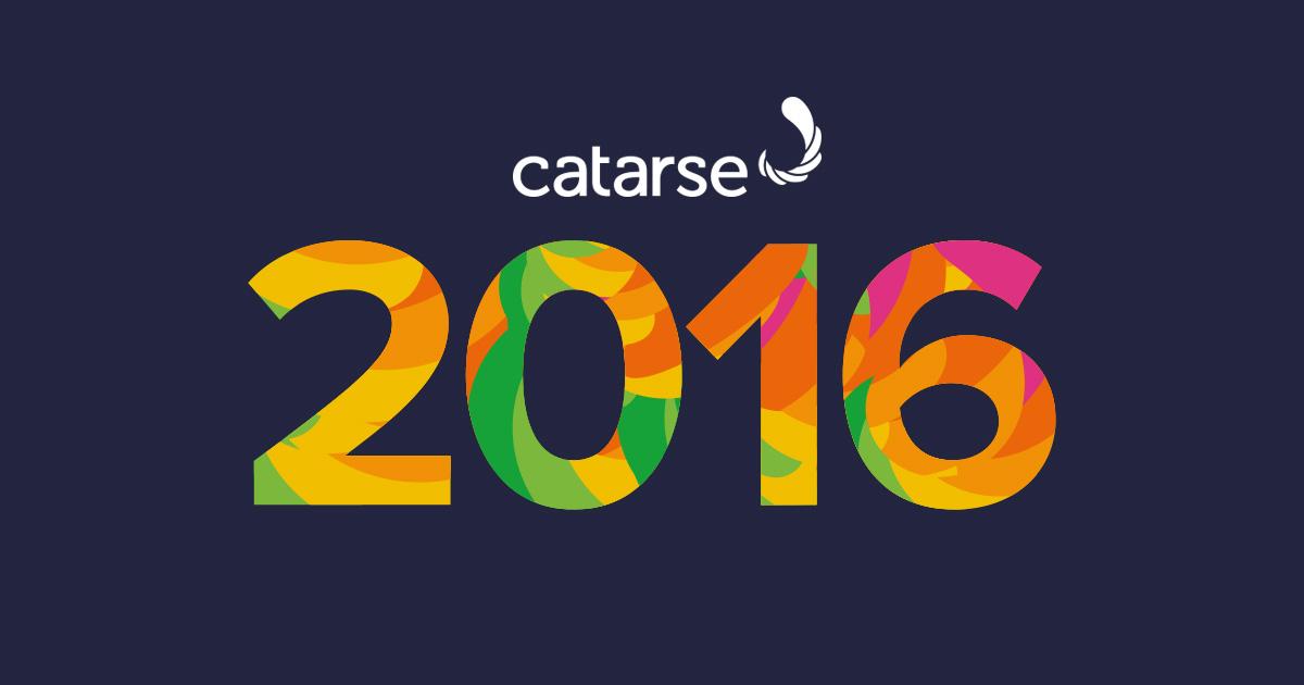 O ano de 2016 no Catarse