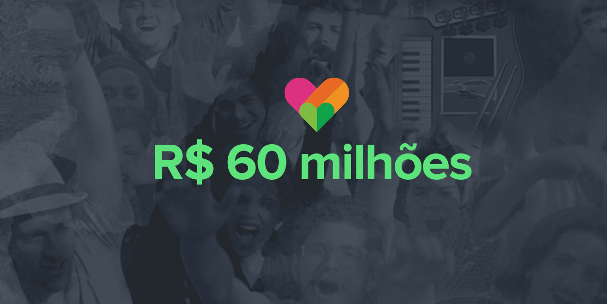 R$60 milhões apoiados a criadores independentes no Catarse
