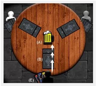 Capa do jogo Magos e tabernas
