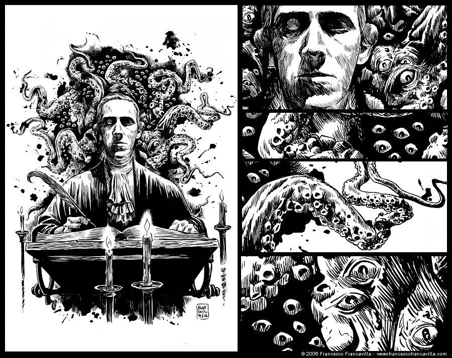 Lovecraft pelos olhos de Francesco Francavilla