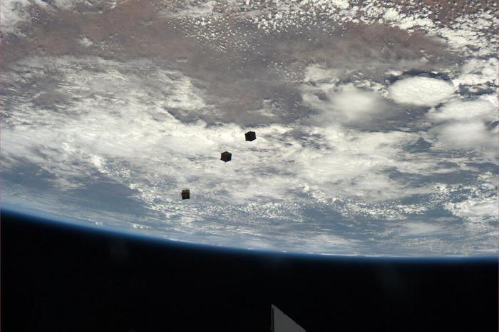 Lançamento do ArduSat da Estação Espacial Internacional
