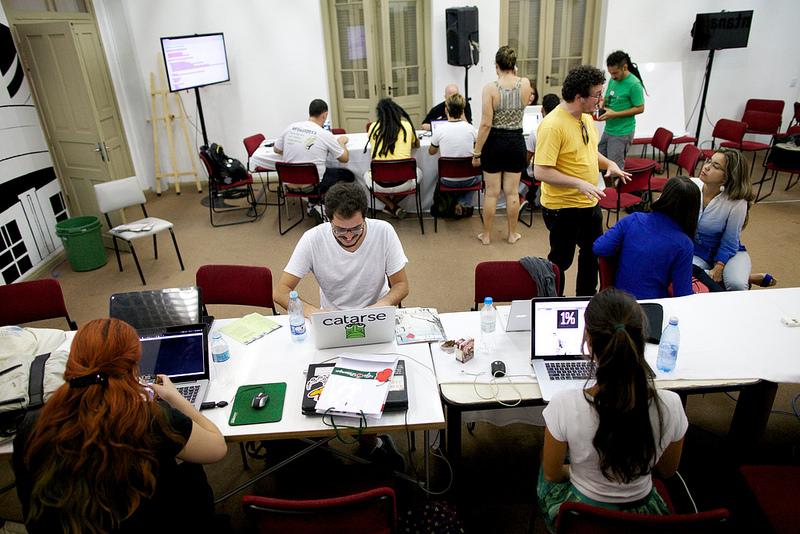 Encontrão Hacker. Conexoes Globais 2014.  Porto Alegre, RS. Foto Eduardo Aigner