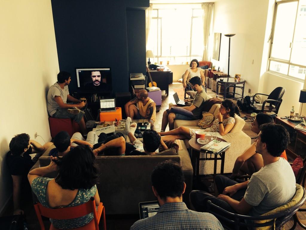 Em São Paulo ou em Montreal, toda a equipe do Catarse se reuniu para rediscutir os rumos da plataforma