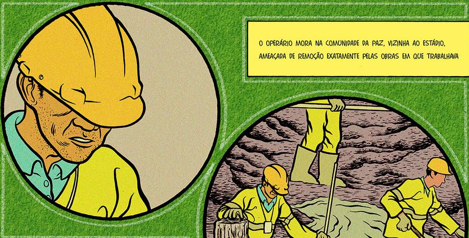 A história de Jaílson  um operário da Copa   Pública