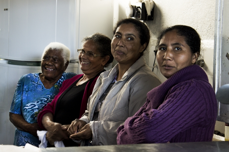 Mulheres do Quilombo Peropava / Foto de Rogério Che