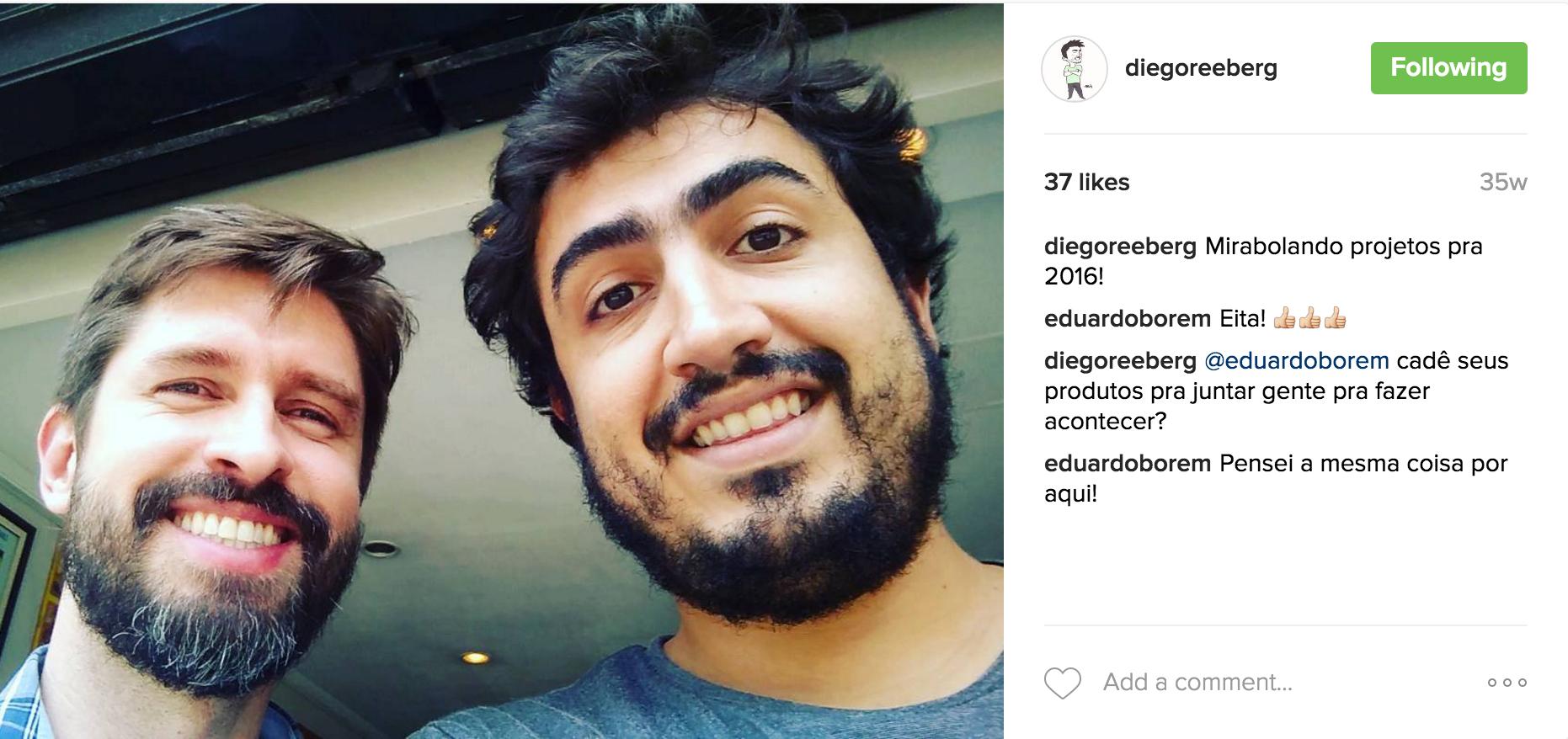 mola Marcio Sequeira Diego Reeberg  catarse
