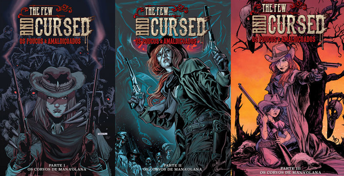 Capas 1 a 3 The Few and Cursed